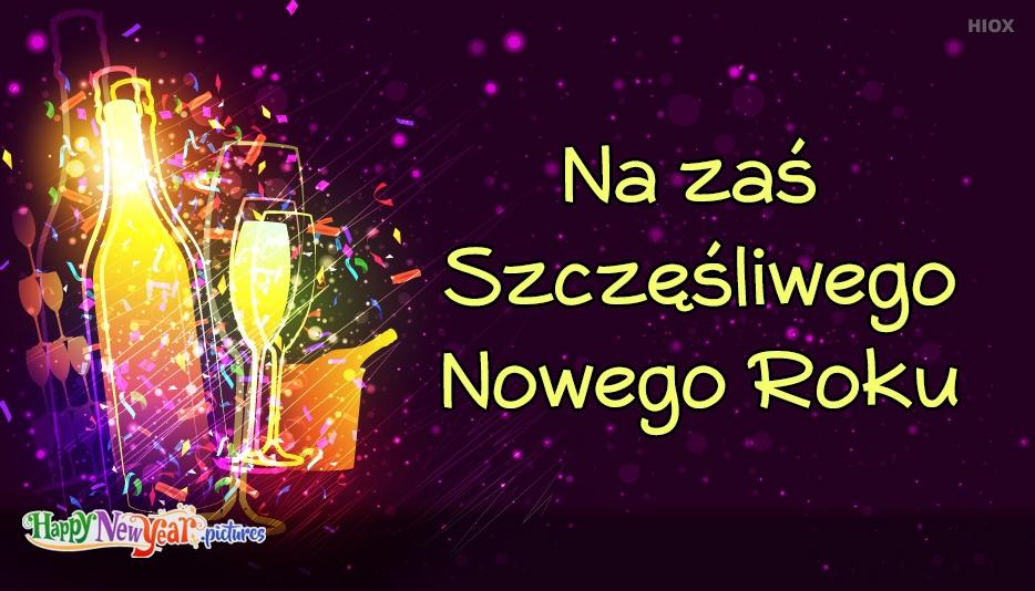 szczęśliwego Nowego Roku Postęp
