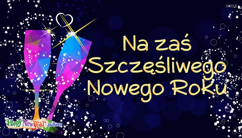 szczęśliwego Nowego Roku Kochanek