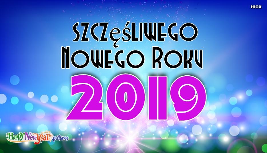 szczęśliwego Nowego Roku Każdy
