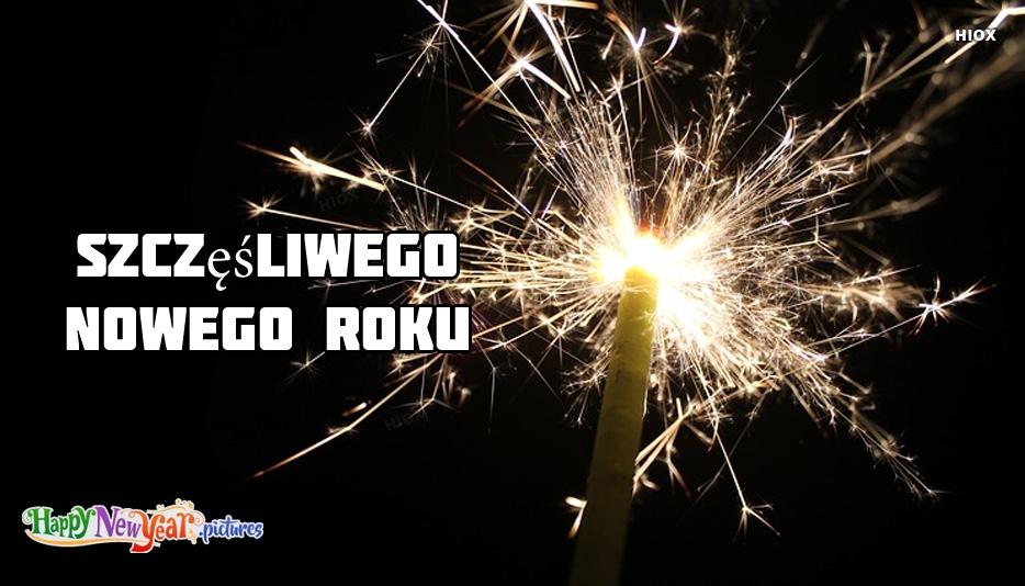 szczęśliwego Nowego Roku Znajomych
