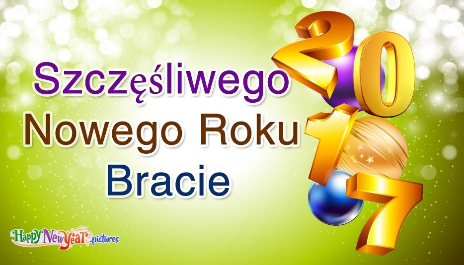 szczęśliwego Nowego Roku Brachu