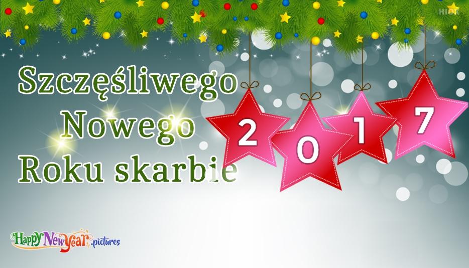 szczęśliwego Nowego Roku Kochanie