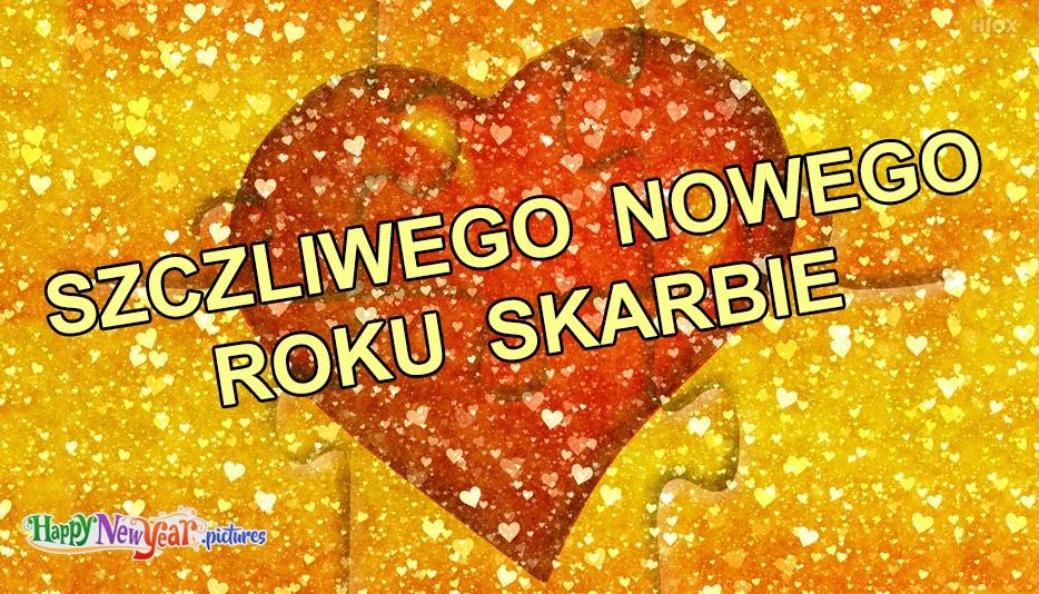 szczęśliwego Nowego Roku Miłość