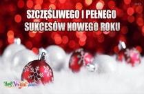 Szczęśliwego I Pełnego Sukcesów Nowego Roku