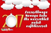 Szczęśliwego Nowego Roku Dla Wszystkich Moich Najbliższych