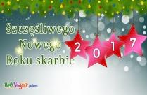 Szczęśliwego Nowego Roku Skarbie