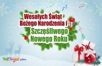 Wesołych Świąt Bożego Narodzenia I Szczęśliwego Nowego Roku
