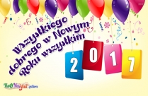 Wszystkiego Dobrego W Nowym Roku Wszystkim