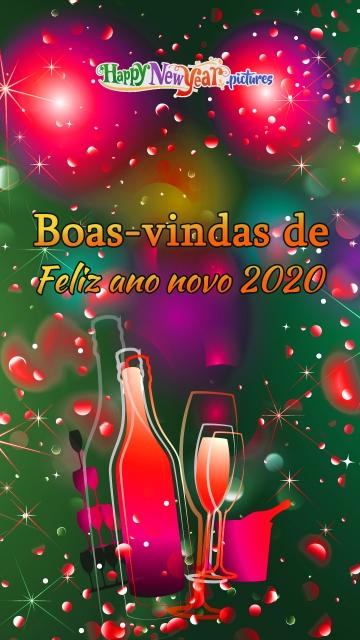 Boas-vindas De Feliz Ano Novo 2020