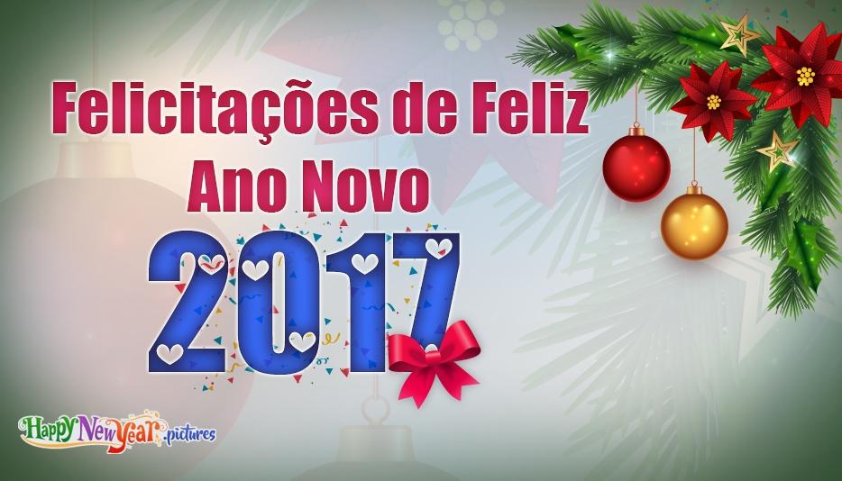 feliz Ano Novo Colegas