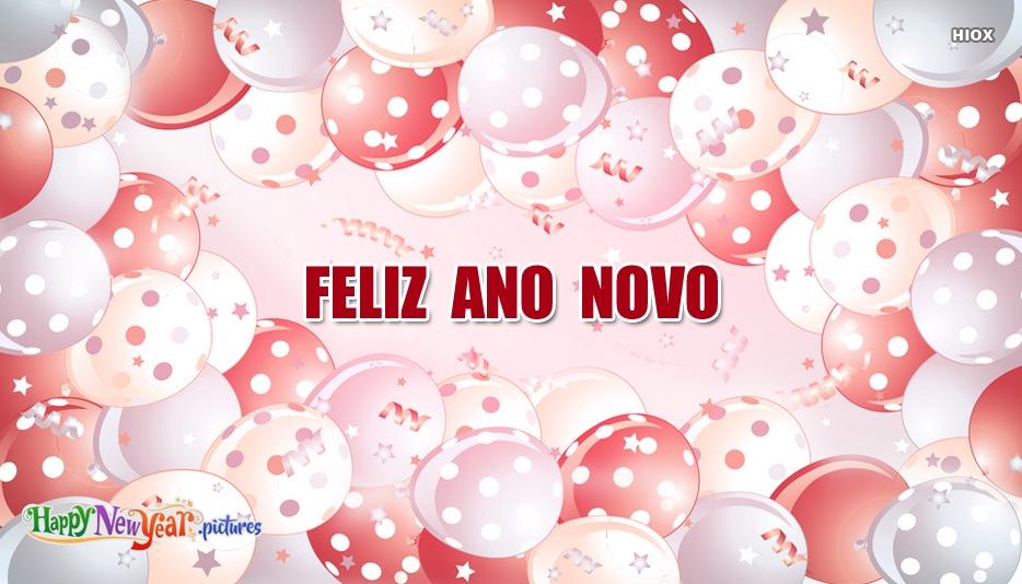 feliz Ano Novo Amigos