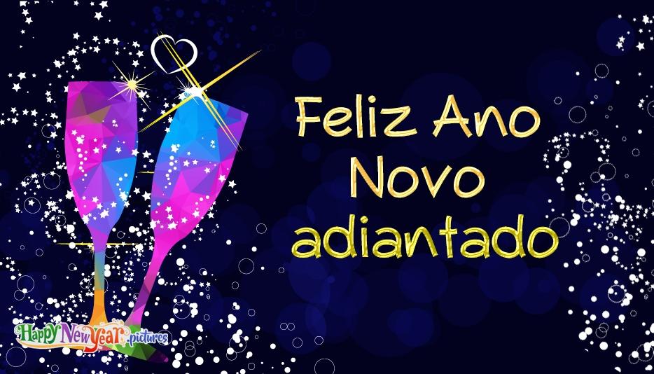 feliz Ano Novo Familia