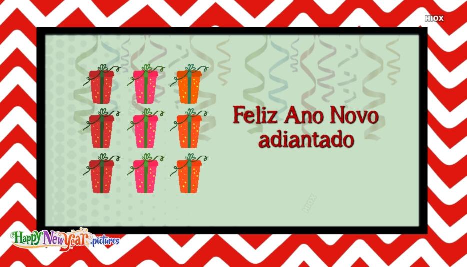 Feliz Ano Novo Adiantado