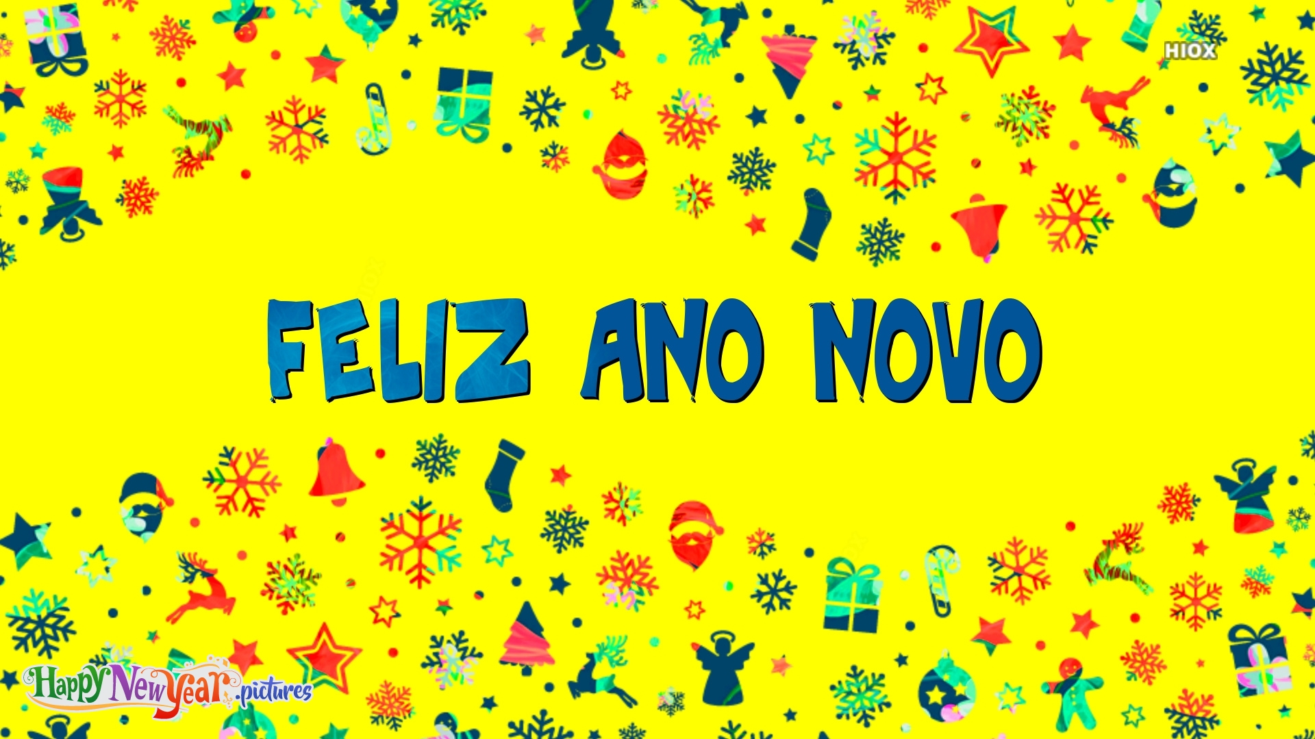 Feliz Ano Novo Amáveis amigos