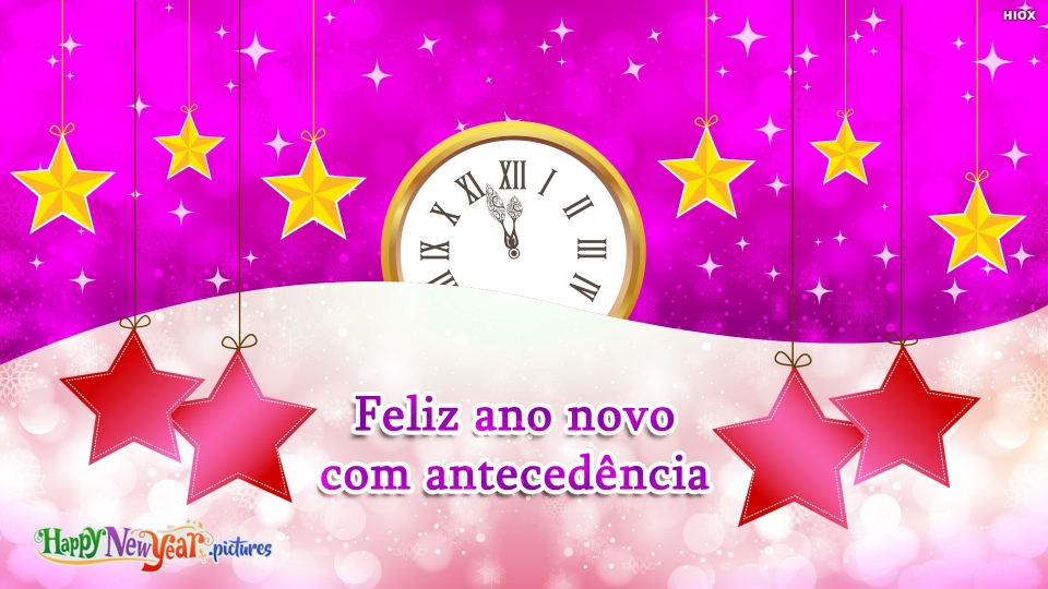 Feliz Ano Novo Antecipado