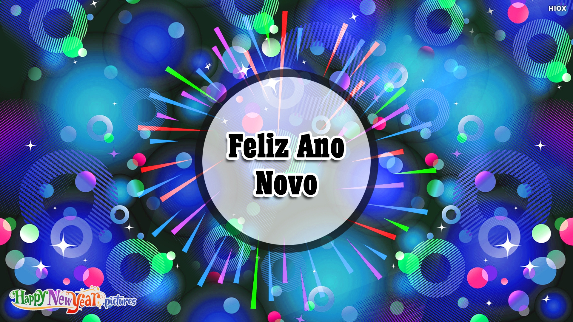 Feliz Ano Novo E Todos