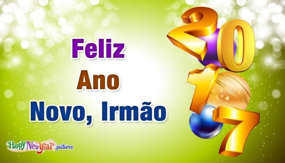 feliz Ano Novo Irmão