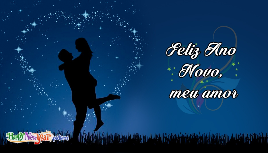 feliz Ano Novo Querida