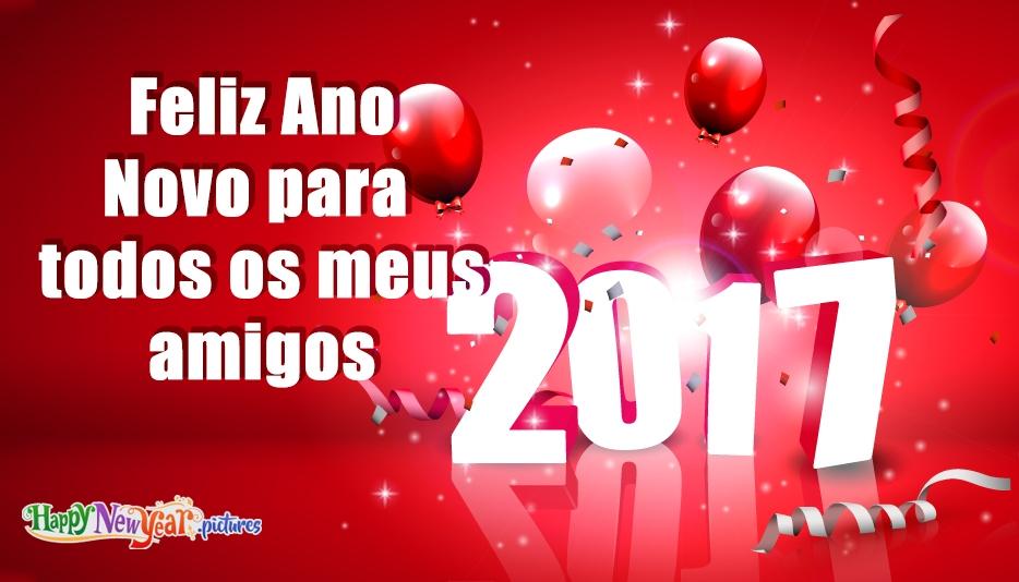 Feliz Ano Novo para todos os meus amigos