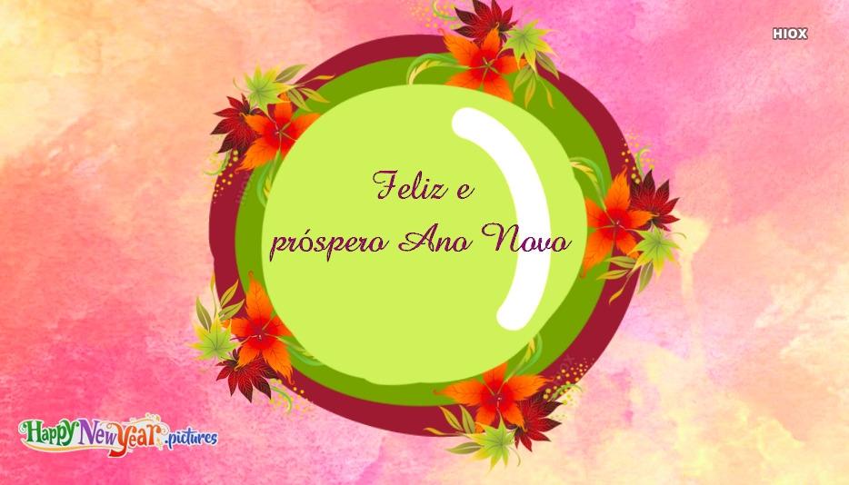 feliz Ano Novo Desejos