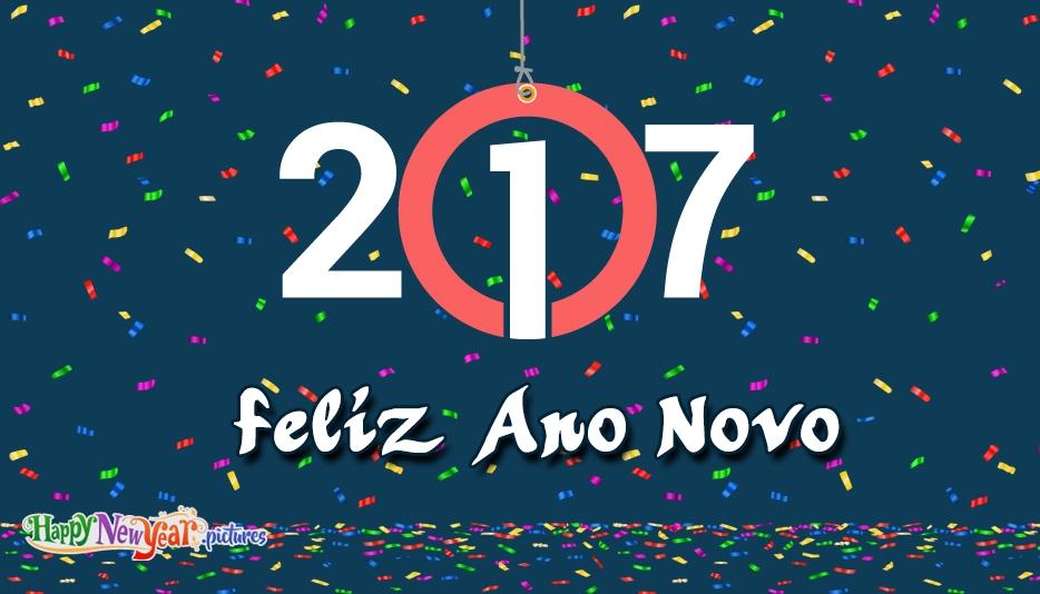 feliz Ano Novo Famílias