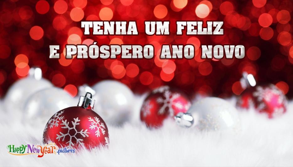 feliz Ano Novo Amigos E Famílias