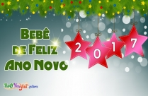 Bebê De Feliz Ano Novo
