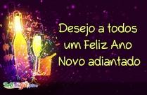 Desejo A Todos Um Feliz Ano