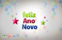 Felicitações De Feliz Ano Novo