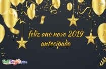 Feliz Ano Novo 2019 Antecipado