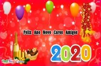 Feliz Ano Novo Caros Amigos