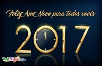 Feliz Ano Novo Para Todos Vocês
