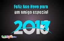 Feliz Ano Novo Para Um Amigo Especial