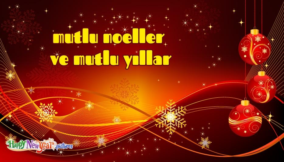 mutlu Noeller Ve Mutlu Yıllar