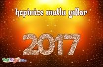 Hepinize Mutlu Yıllar