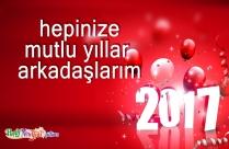 Hepinize Mutlu Yıllar Arkadaşlarım