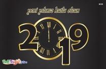 Yeni Yılınız Kutlu Olsun 2019