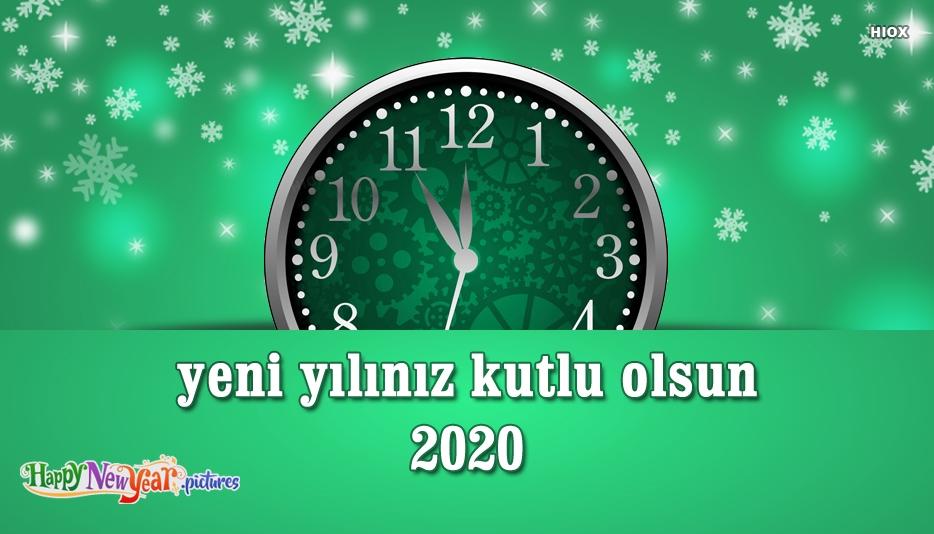 Yeni Yılınız Kutlu Olsun 2020 | Happy New Year 2020 In Turkish