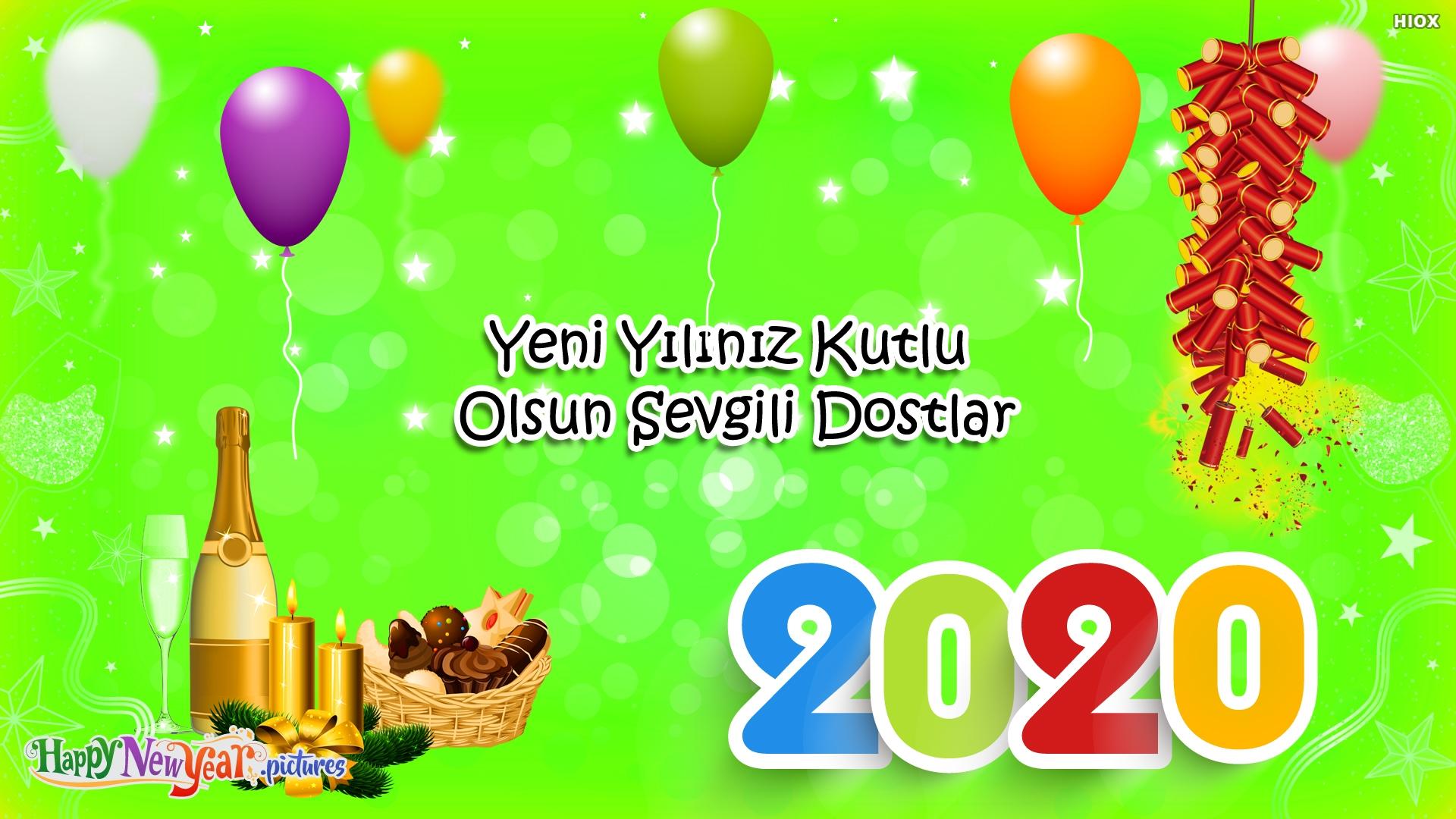 Yeni Yılınız Kutlu Olsun Sevgili Dostlar