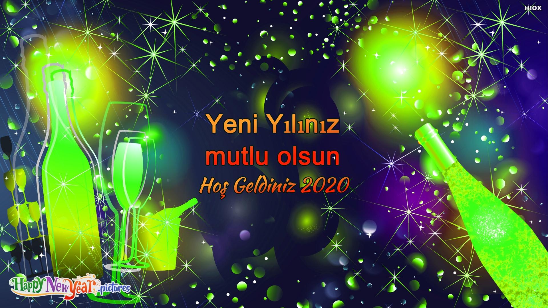 Yeni Yılınız Mutlu Olsun Hoş Geldiniz 2020